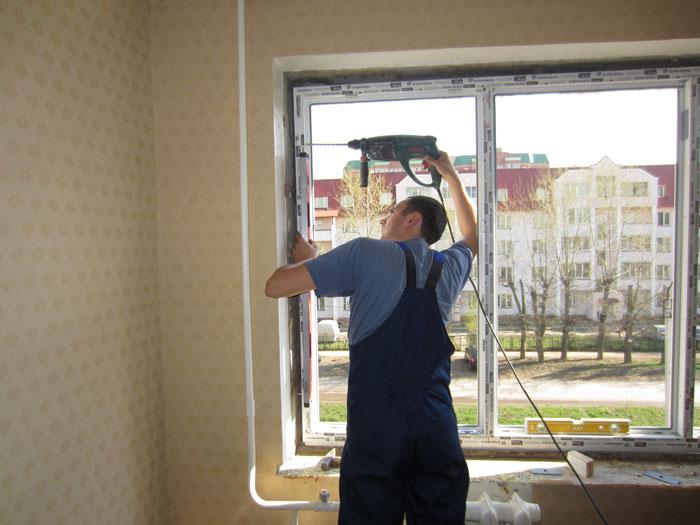 Мастер класс по установке пластиковых окон - порс стройзащит.